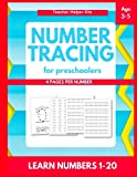 number tracing workbooks - Number Tracing: Number tracing books for kids ages 3-5,Number tracing workbook,Number Writing Practice Book,Number Tracing Book for Preschoolers