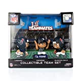 Lil' Teammates 3 Figurine Houston Texans NFL Team Set (Pack of 3)