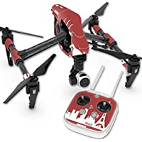 Skin For DJI Inspire 1 Quadcopter Drone – Paris   MightySkins Protective, Durable, and Unique Vinyl Decal wrap cover   Easy To Apply, Remove, and Change Styles   Made in the USA