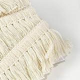 VU100 Cotton Tassel Fringe Trim 1-1/2 inch, Lace