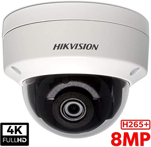Hikvision DS-2CD2183G0-I 8.0MP 4K UltraHD Exir Dome Camera 4.0mm, IR, IP67 Weatherproof