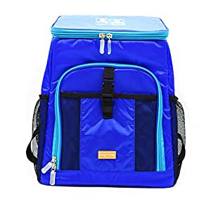 bigrids práctico mochila con capa aislante térmico, se puede utilizar como un COOLER Bag, gran capacidad y Vogue estilo