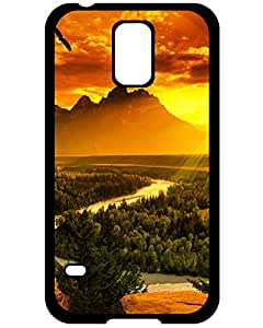 detroit tigers Samsung Galaxy S5 case's Shop Hot New Shockproof Protection Case Cover For Samsung Galaxy S5/ Sunset on mountains Case Cover 8433894ZE738254942S5