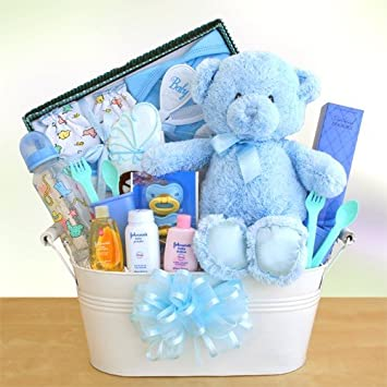 Amazon A Welcome Arrival Deluxe Baby Gift Basket Boy Baby
