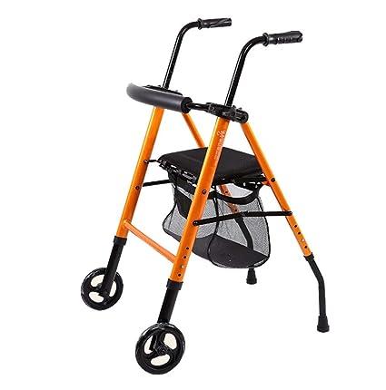 Trella - Andador de aluminio con asiento para personas ...