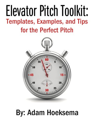 amazon com elevator pitch toolkit templates examples and tips
