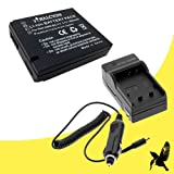 Halcyon 1800 mAH Lithium Ion Replacement Battery and Charger Kit for Leica D-LUX5 10.1 MP Compact Digital Camera and Leica BP-DC10