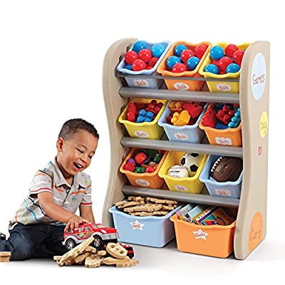 Step2 Fun Time Room Organizer And Toy Storage, Tropical: Toys & Games