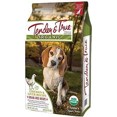 Tender & True Organic Chicken & Liver Recipe Dog Food