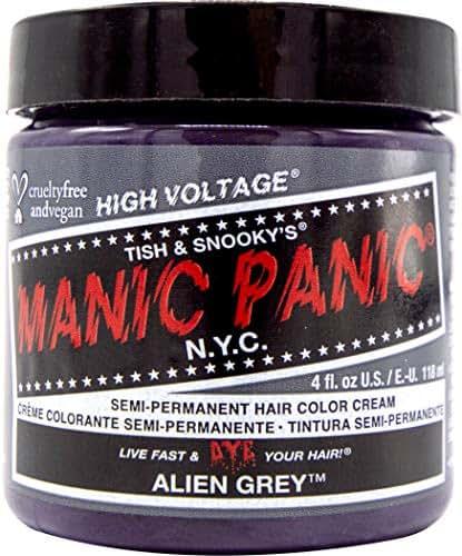 Manic Panic Alien Grey Medium Slate Grey Hair Dye