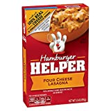 Betty Crocker Hamburger Helper, Four Cheese Lasagna Hamburger Helper, 5.5 Oz Box