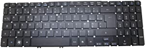 GAOCHENG Laptop Keyboard for ACER Aspire M5-581 M3-581 V5-571 V5-531 MP-11F56F0-4424W Black Without Frame French FR
