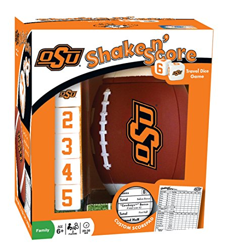 MasterPieces NCAA Sports Shake and Score, Orange, 6