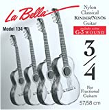 LaBella FG134 Classical Fractional Guitar - 3/4 Size