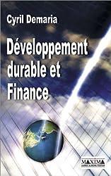 developpement durable et finance