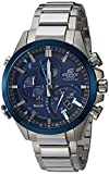 Casio Men's 'Edifice' Quartz Stainless Steel Casual Watch, Color:Silver-Toned (Model: EQB-500DB-2ACF)