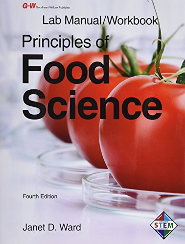 Principles of Food Science- Lab Manual/ Workbook