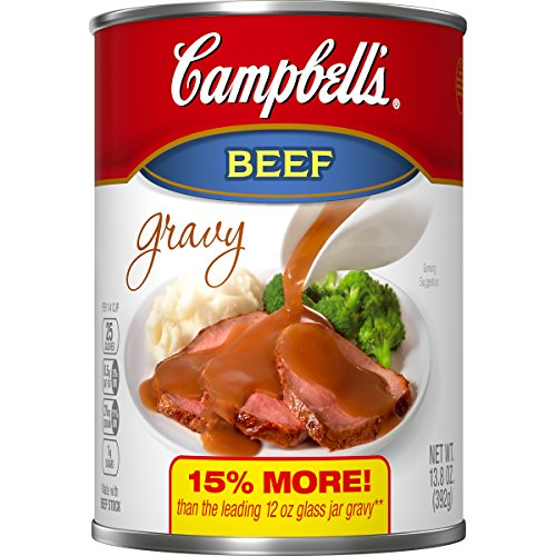 Campbell's Gravy, Beef, 13.8 Ounce (Packaging May Vary) Campbells Turkey