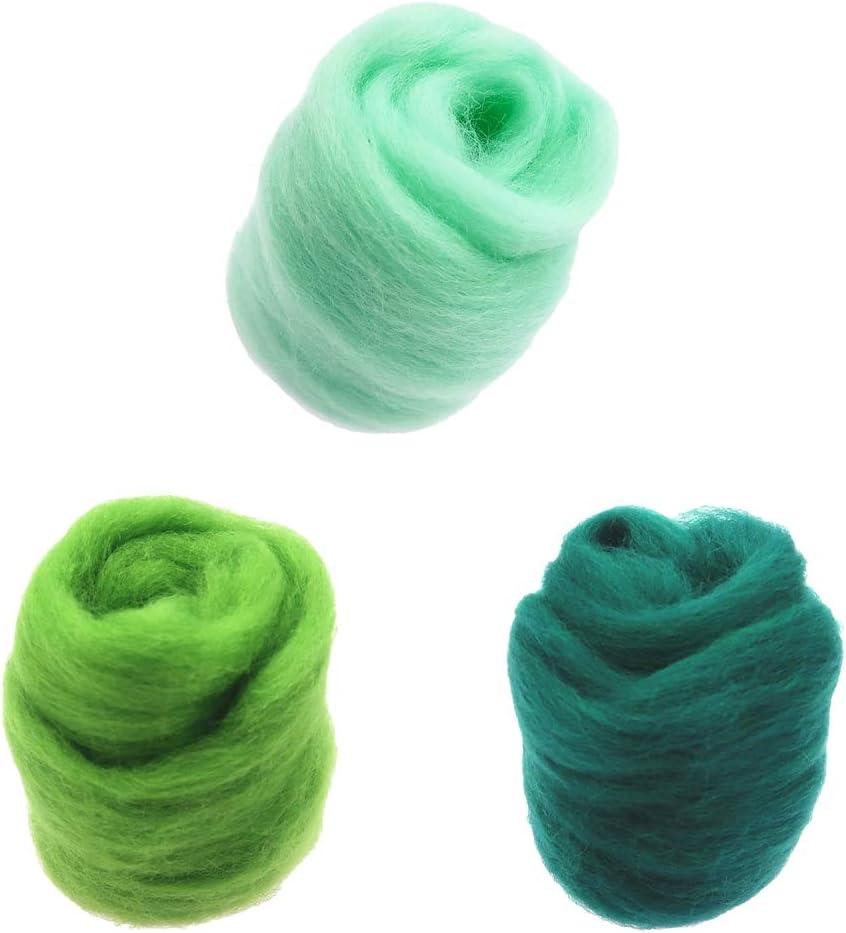 Baoblaze 30g Fairy Tale Wool Felt Felt Wool Craft Kit for Craft DIY Crafts Christmas Decoration