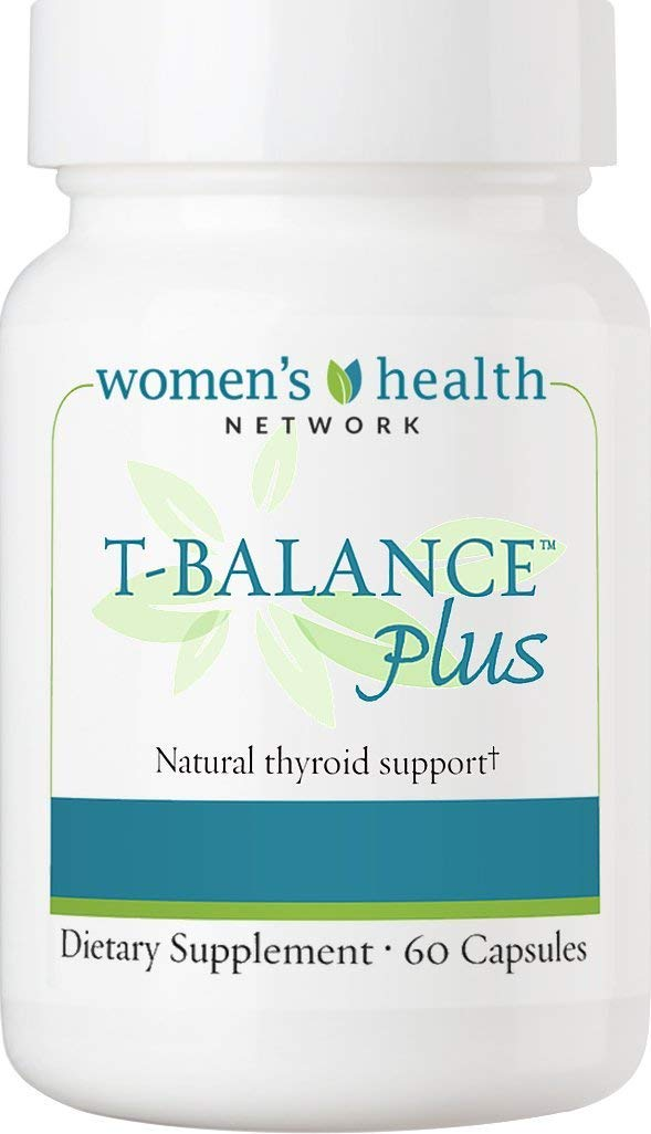 T-Balance Plus Natural Thyroid Supplement for Subclinical Hypothyroidism 60 capsules by Women's Health Network