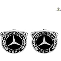 Chic Benz Logo French Shirts Cufflinks For Men Fashion Men's Jewelry