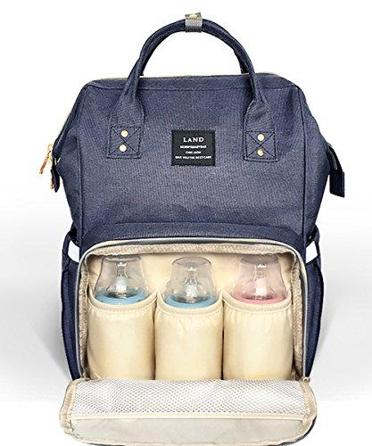 Shellyme Multi-function Mummy Backpacks Baby Diaper Bag Large Capacity Sundry Bag