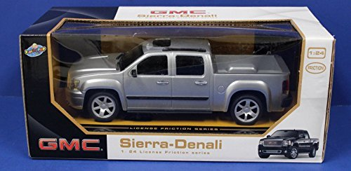 GMC Sierra Denali Pickup Truck 1:24 Friction Series Silver