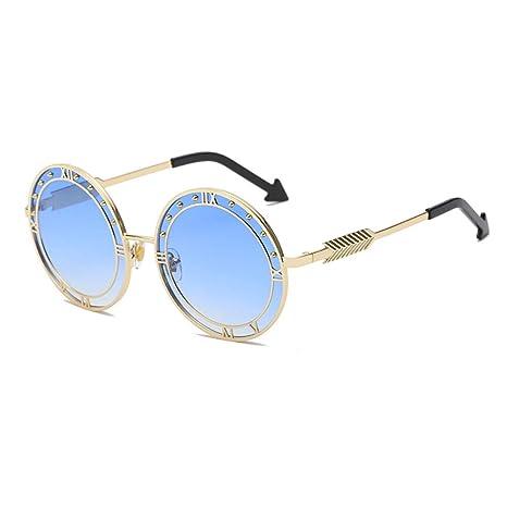 Yangjing-hl Reloj Gafas de Sol Gafas de Sol de Diamante ...