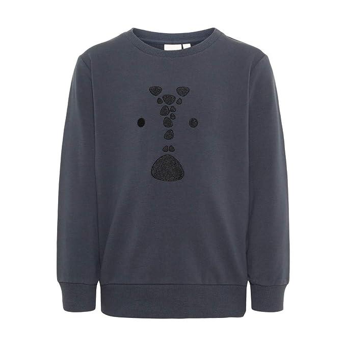 NAME IT Jungen Colorblocking Sweatshirt mit Tiermotiv