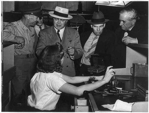 Infinite Photographs Photo: Harley Martin Kilgore,1893-1956,3 Other Men,Woman