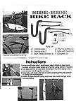 Block Surfboard Bike Rack - Side