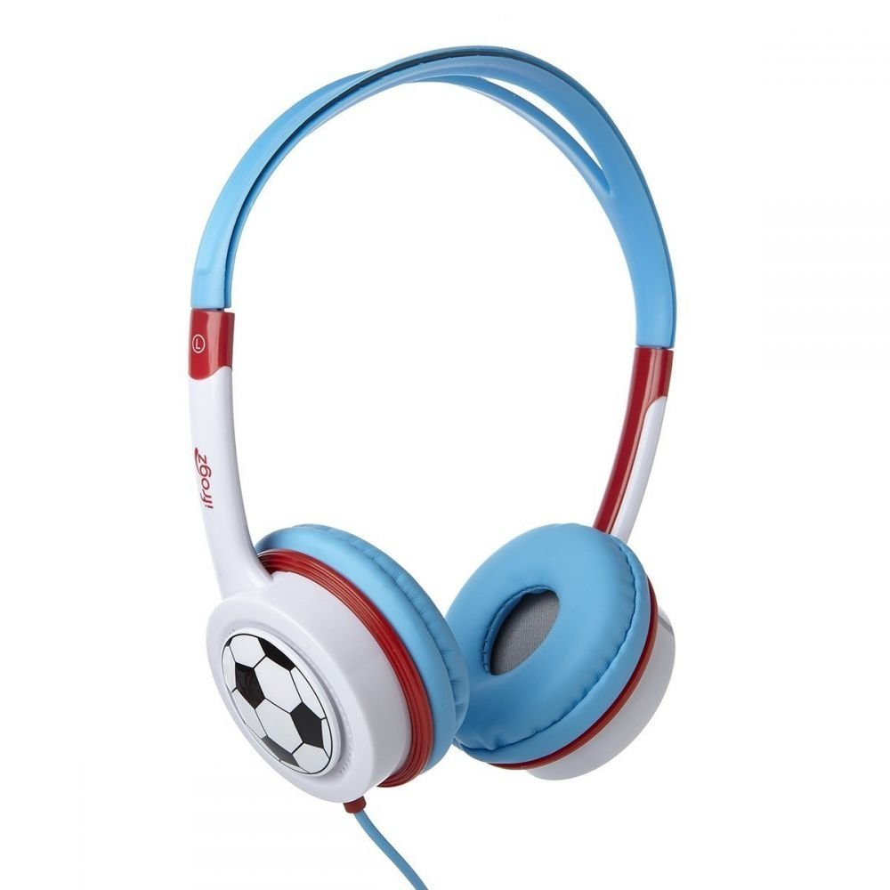 Auriculares iFrogz Over-Ear Little Rockers Sport Kid Safe Sports IFLTRC-LRO (Non-Retail Packaging)