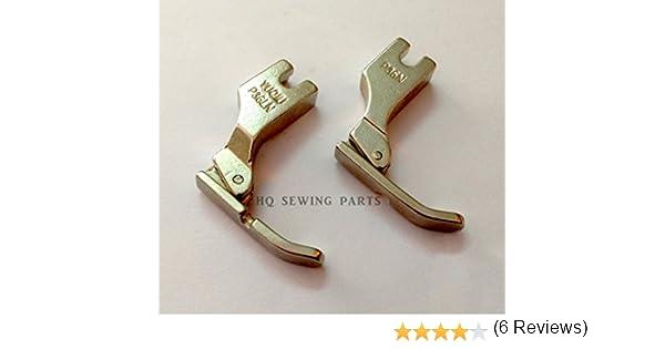 Industrial Máquina de coser Cordón cremallera pie p36ln/p36 N ...