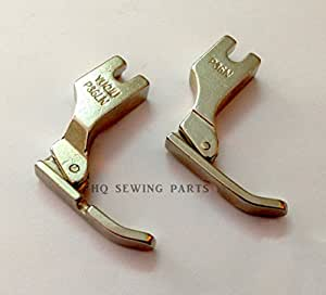 Industrial Máquina de coser Cordón cremallera pie p36ln/p36 N (Izquierdo y Derecho) - Juki, Brother, riccar, Singer: Amazon.es: Hogar