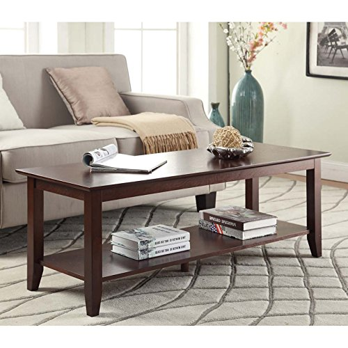 American Heritage Coffee Table with Shelf + Expert Guide American Heritage Coffee Table