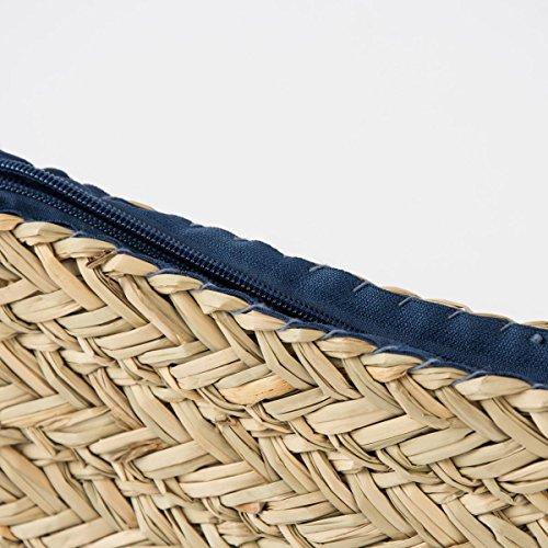 Tasche Cara L31cm natur Seegras Henkellänge: 20cm