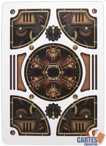 Steam Punk Bicycle Playing Cards 5