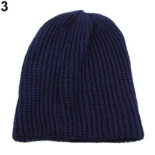 azul oscuro de de Ganchillo Beige Hombre Estilo Vino Informal Color Rojo Sombrero para Ukallaite Punto wZ6OqW