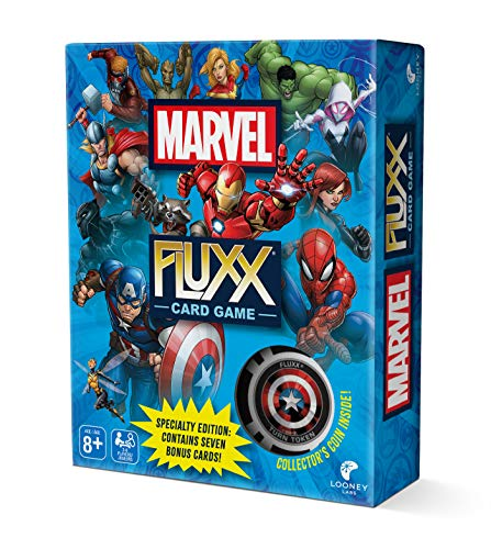 Looney Labs Marvel Fluxx Specialty Edition Card Game (Fluxx Game Card)