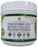 Pinnacle of Wellness Pure Hydrolyzed Bovine Collagen Peptides Powder – Natural Flavor – 41 Servings 16.0oz (454g)