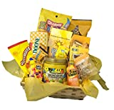 7 hour energy - Yellow Themed Gift Basket | Sunshine | Cheerful Gift | Get Well Soon | Pick Me Up Gift | Yellow Themed Gift Basket
