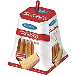 Giusto Sapore Italian Pandoro Panettone Premium Gourmet Bread 26.4oz. - Traditional Dessert - Imported from Italy and Family Owned