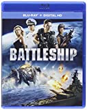 Battleship (Blu-ray + DIGITAL HD with UltraViolet + Warcraft Fandango Cash)