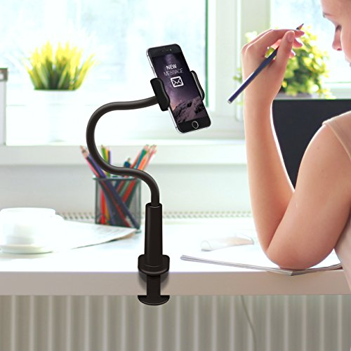 Buy cell phone desk holder adjustable