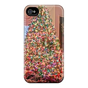 New Fashionable Happycases2005 QsJ18794zHYg Covers Cases Specially Made For Iphone 6plus(christmas Tree)