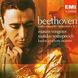 Maxim Vengerov: Beethoven - Violin Concerto; Romances 1 & 2