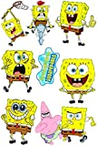 SpongyBob Computer Cases Windows Boats Vinyl Car Stickers in one A4 Page Code F0022