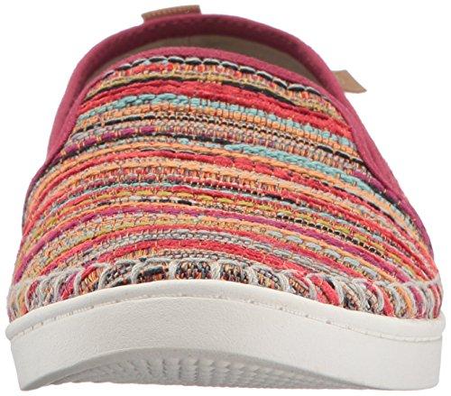Sanuk Frauen Brook TX Slip-On Loafer Puma Rot Boho