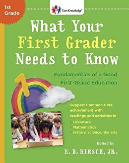 Amazon what your first grader needs to know fundamentals of what your first grader needs to know fundamentals of a good first grade education fandeluxe Image collections