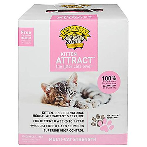 最好的价钱 . Elsey' Precious Cat Kitten Attract Training Litter, - box